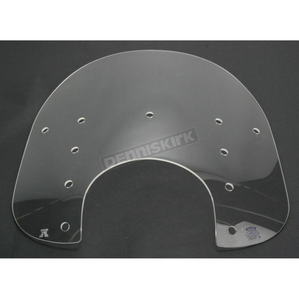 Memphis Shades Memphis Fats 15 in. Replacement Clear Plastic for 9 in. Headlights - MEP3520