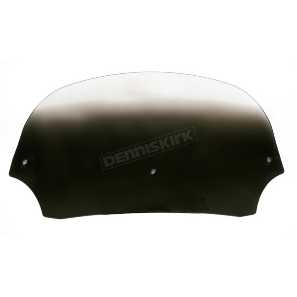 Memphis Shades 7 in. Gradient Black Batwing Windshield for Batwing Fairing - MEP8511