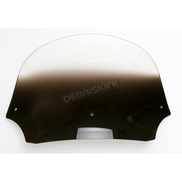 9 in. Gradient Black Batwing Windshield for Batwing Fairing - MEP8521