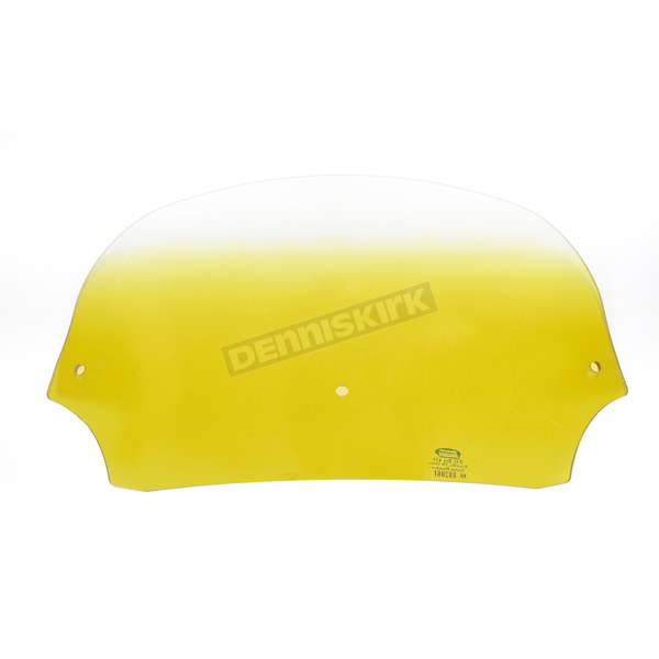 Memphis Shades 7 in. Gradient Yellow Batwing Windshield for Batwing Fairing - MEP8515