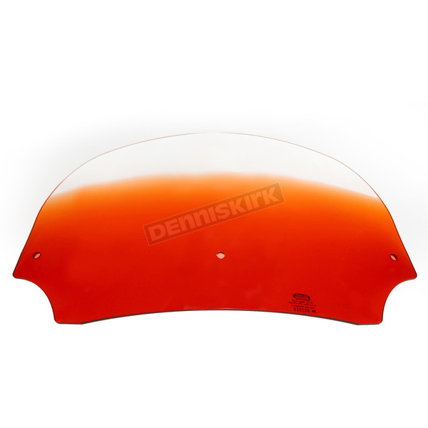 Memphis Shades 7 in. Burnt Orange Batwing Windshield for Batwing Fairing - MEP8517