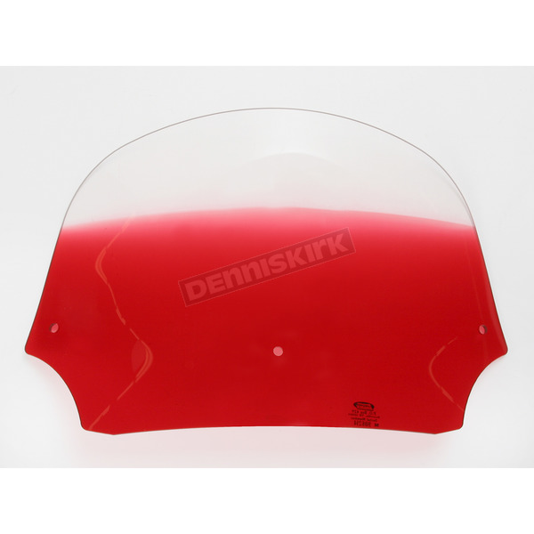Memphis Shades 9 in. Gradient Ruby Batwing Windshield for Batwing Fairing - MEP8522