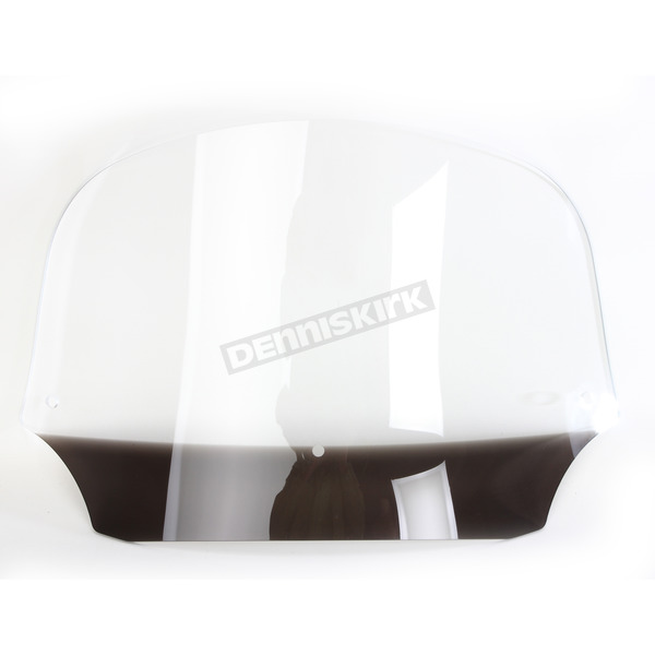 Memphis Shades 9 in. Clear Batwing Windshield for Batwing Fairing - MEP8520