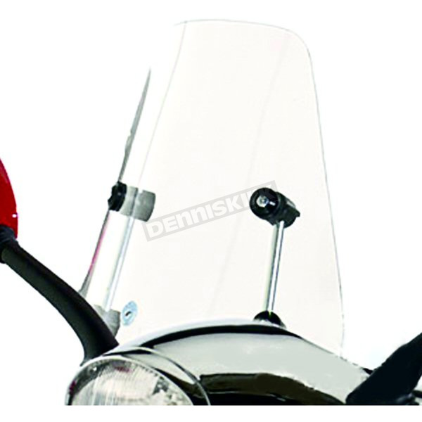 Cuppini Clear Scooter Windshield - ETWS2