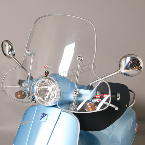 Faco Midsize Scooter Windshield - LXWS3