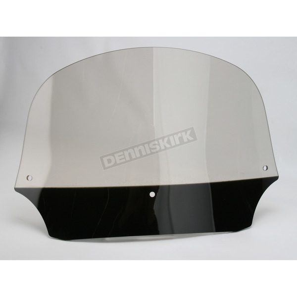 Memphis Shades 9 in. Solar Batwing Windshield for Batwing Fairing - MEP8529