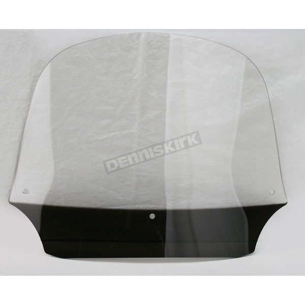 Memphis Shades 12 in. Clear Batwing Windshield for Batwing Fairing - MEP8530