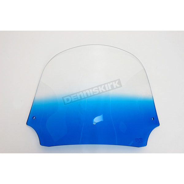 Memphis Shades 12 in. Gradient Blue Batwing Windshield for Batwing Fairing - MEP8536