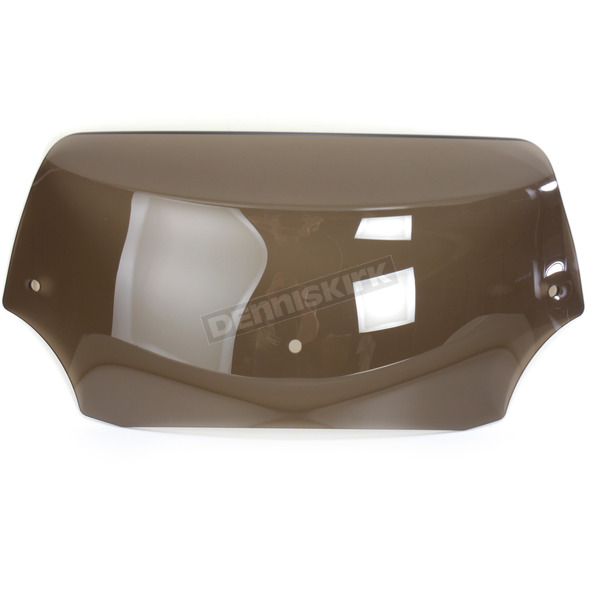 Memphis Shades 6.5 in. Smoke Batwing Spoiler Windshield for Batwing Fairing - MEP8541