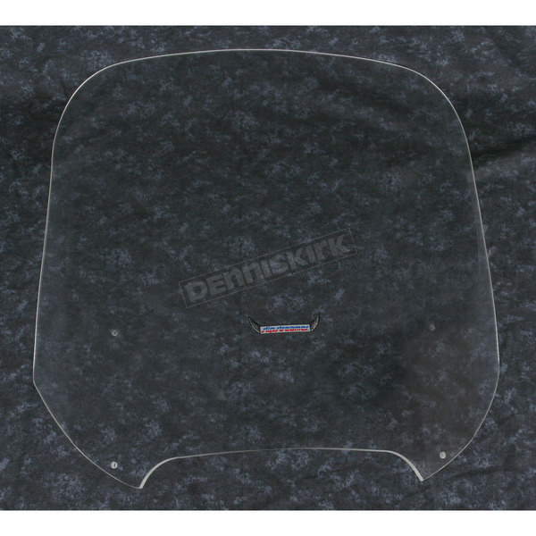 Slip Streamer Large Clear Replacement Fairing Windshield - S-122-C
