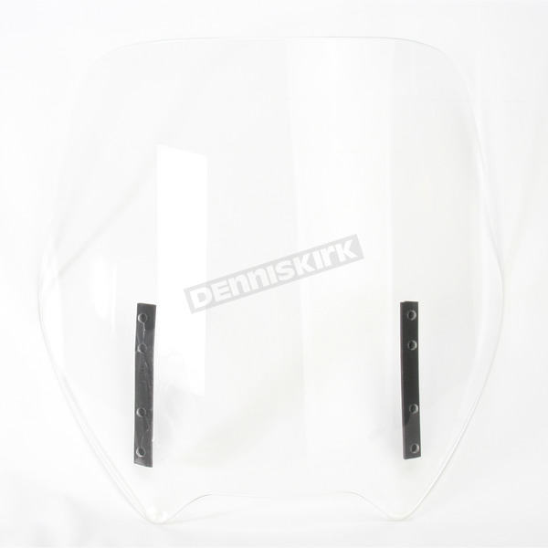 Rifle Clear Standard Height Replacement Windshield - 0.102.09.21-S