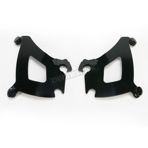 Memphis Shades Black Mounting Plate Only Hardware for Bullet Fairing - MEK1863