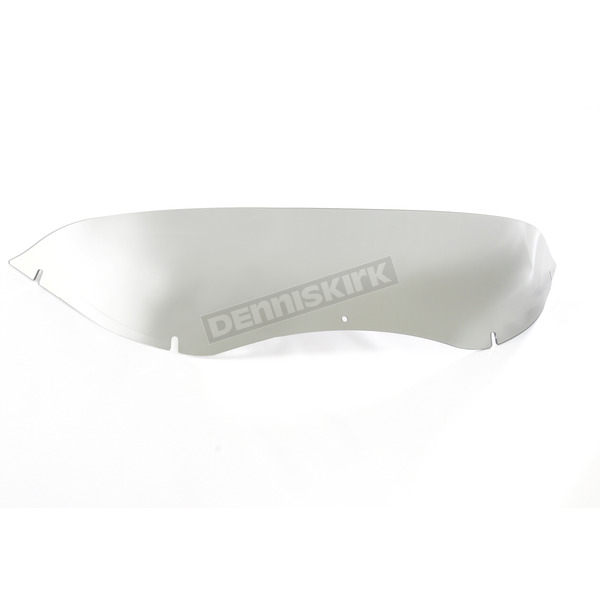Tour Ease Black Chrome 6 in. Chopped Windscreen for Touring Models -