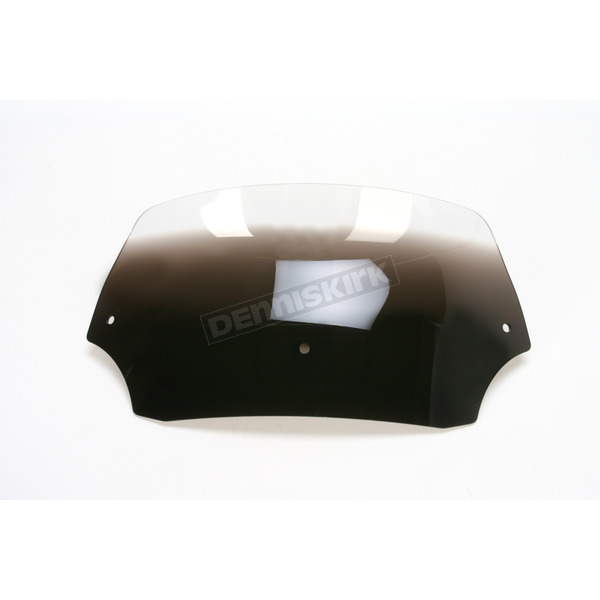 Memphis Shades 6.5 in. Ghost Batwing Spoiler Windshield for Batwing Fairing - MEP8548