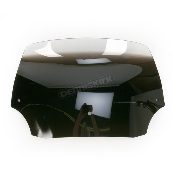 Memphis Shades 9 in. Ghost Batwing Spoiler Windshield for Batwing Fairing - MEP8568
