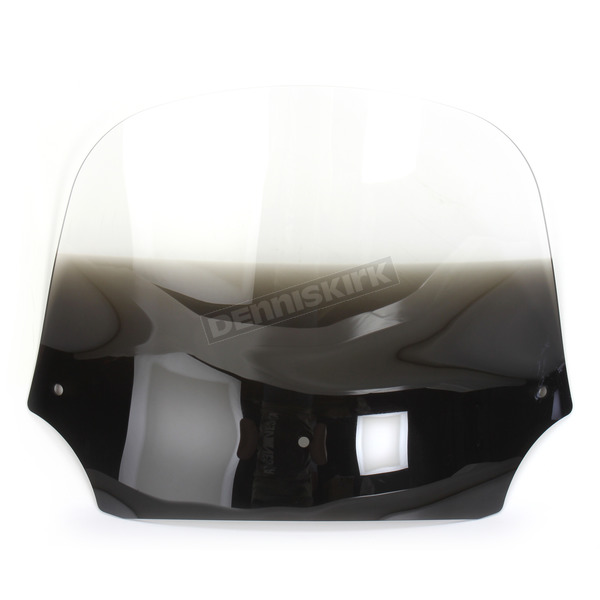 Memphis Shades 9 in. Solar Batwing Spoiler Windshield for Batwing Fairing - 2350-0172