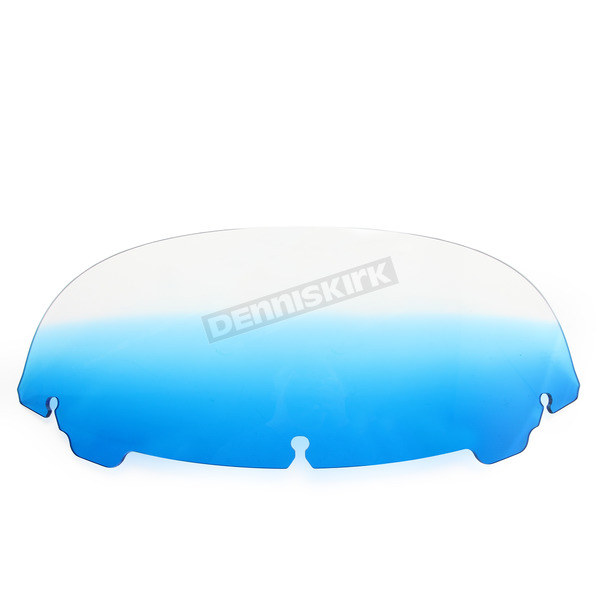 Memphis Shades Gradient Blue 7 in. Replacement Plastic for use with OEM Harley Davidson Windshield Hardware - MEP8166