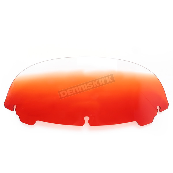 Memphis Shades Gradient Burnt Orange 7 in. Replacement Plastic for use with OEM Harley Davidson Windshield Hardware - MEP8167