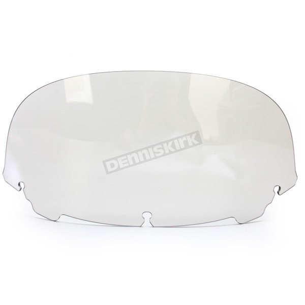 Memphis Shades Solar 9 in. Replacement Plastic for use with OEM Harley Davidson Windshield Hardware - MEP8179