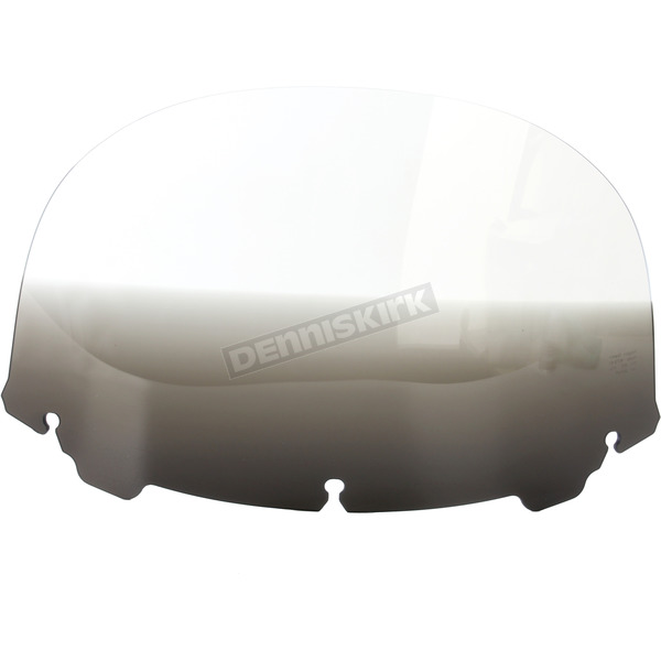 Memphis Shades Gradient Black 12 in. Replacement Plastic for use with OEM Harley Davidson Windshield Hardware - MEP8181