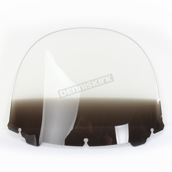 Memphis Shades Gradient Black 15 in. Replacement Plastic for use with OEM Harley Davidson Windshield Hardware - MEP8191
