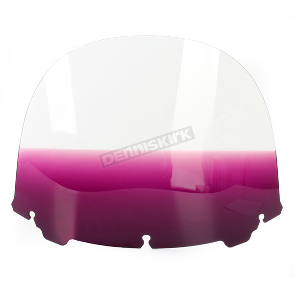 Memphis Shades Gradient Purple 15 in. Replacement Plastic for use with OEM Harley Davidson Windshield Hardware - MEP8194
