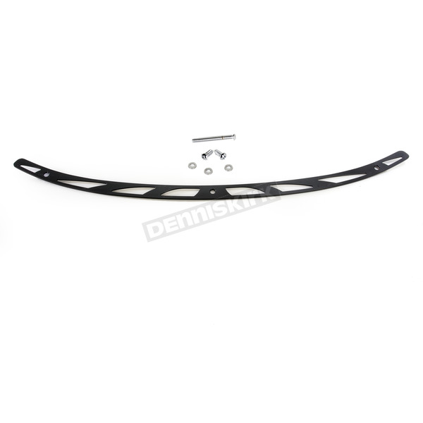Carl Brouhard Designs Black Elite Windshield Trim - WT-0002-B