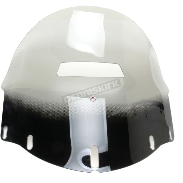 Klock Werks Tinted 16 in. Flare Vented Windshield - 2312-0256