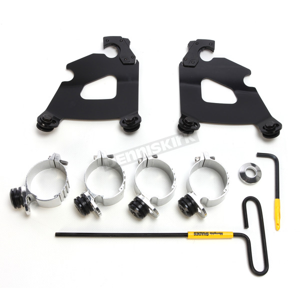 Memphis Shades Black Cafe Fairing Trigger Lock Hardware Kit - MEB2015