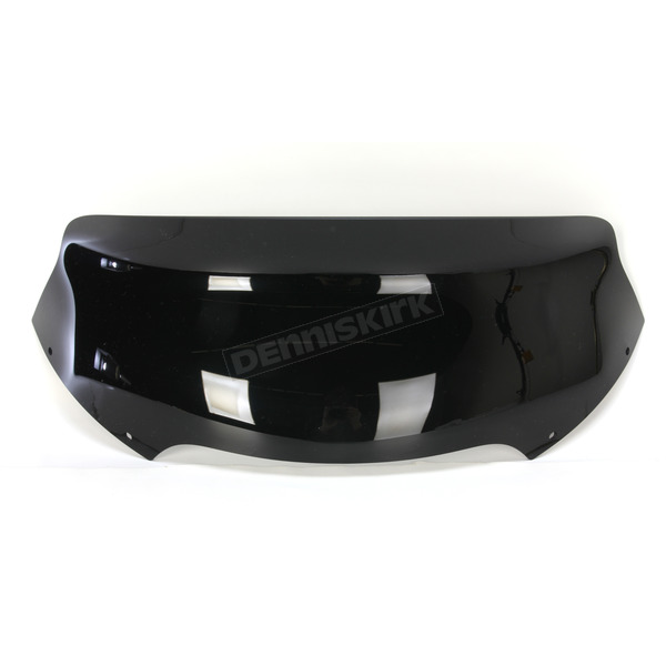 Memphis Shades Black Opaque 6.5 in. Spoiler Windshield for OEM Fairings - MEP86011