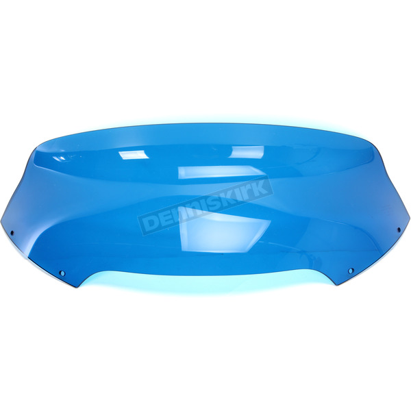 Memphis Shades Blue 6.5 in. Spoiler Windshield for OEM Fairings - MEP86006