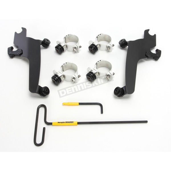 Memphis Shades No-Tool Trigger-Lock Windshield Mount Kit for Sportshields - MEB2020