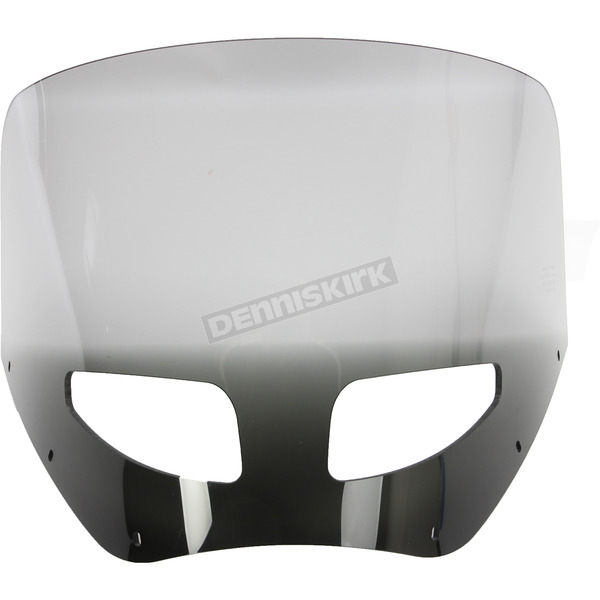 Memphis Shades 11 in. Black Smoke Vented Windshield for Road Warrior Fairing - MEP87412