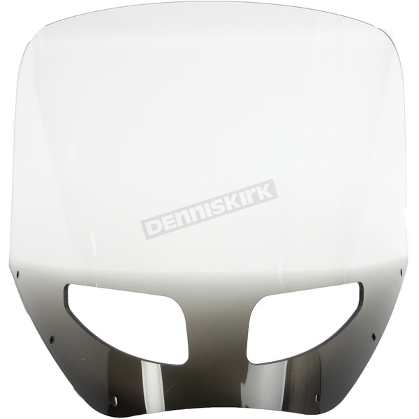 Memphis Shades 13 in. Ghost Vented Windshield for Road Warrior Fairing - MEP87508