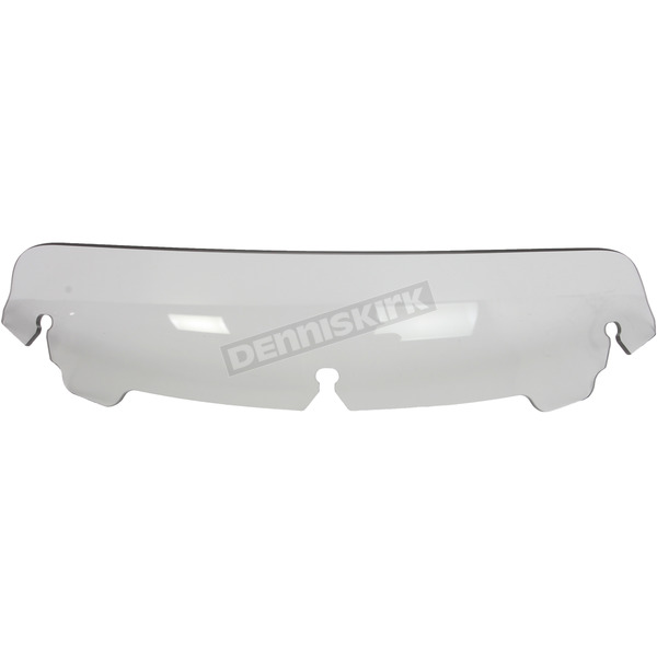 Memphis Shades Replacement Ghost 3 in. Spoiler Windshield For OEM Batwing Fairing Only - MEP87808