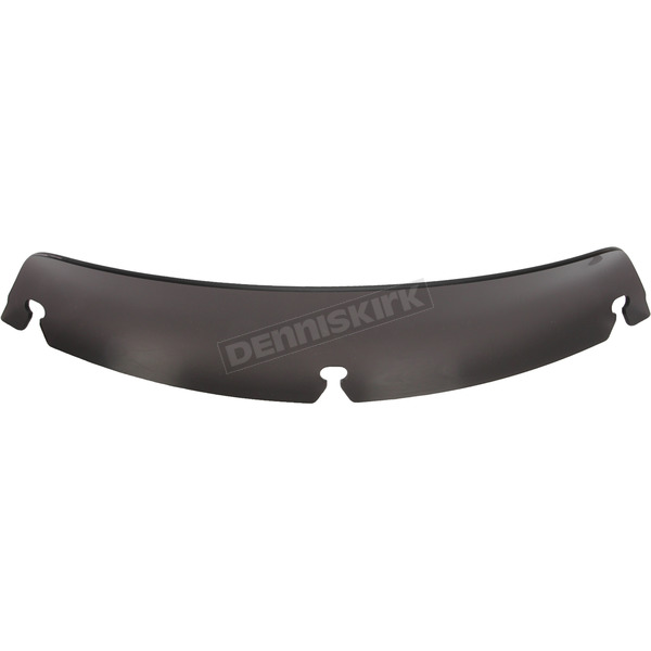Memphis Shades 3 in. Replacement Dark Black Smoke Spoiler Windshield For OEM Batwing Fairing Only - MEP87910