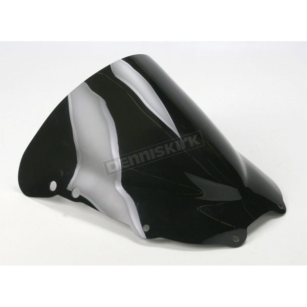Moto Brackets Smoke Acrylic Windscreen - WSAS509