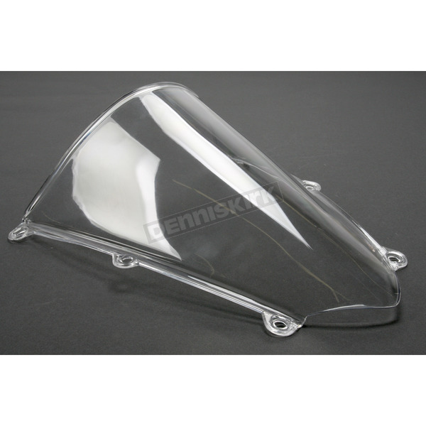Moto Brackets Clear Polycarbonate Windscreen - WSPC506