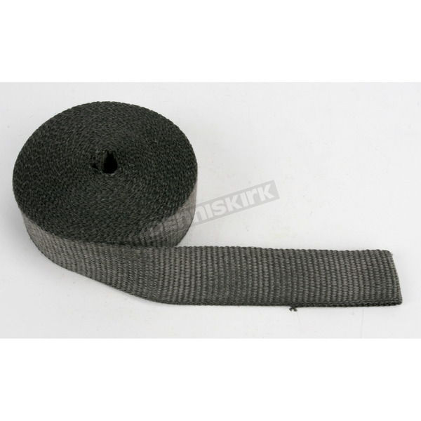 Cycle Performance Black 2 in. x 100 ft. Exhaust Pipe Wrap  - CPP/9042-100