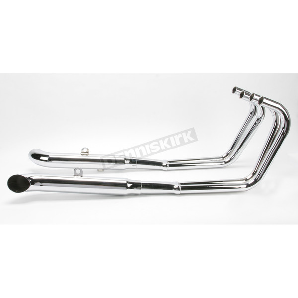 Mac 4-into-2 Chrome Turnout Exhaust System - 002-0608