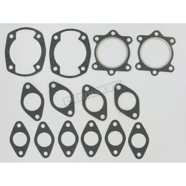 Winderosa 2 Cylinder Full Top Engine Gasket Set - 710063B