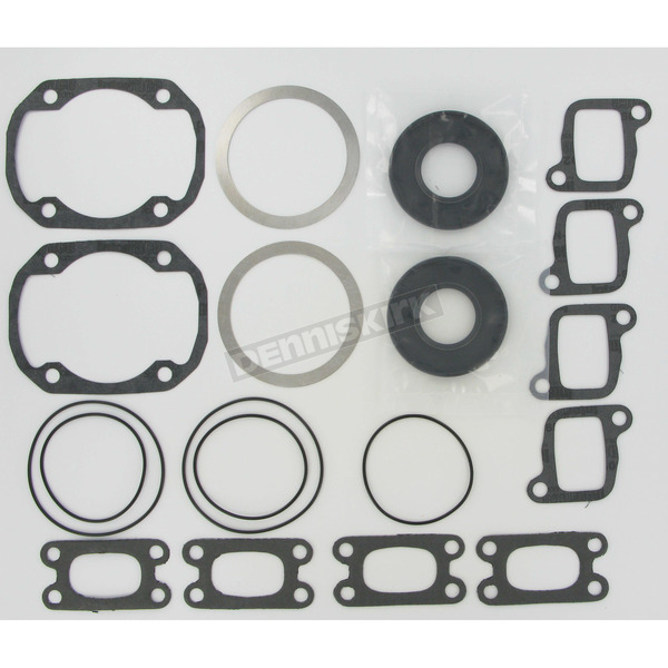 Winderosa 2 Cylinder Complete Engine Gasket Set - 711196