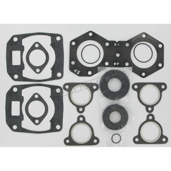 Winderosa 2 Cylinder Complete Engine Gasket Set - 711236