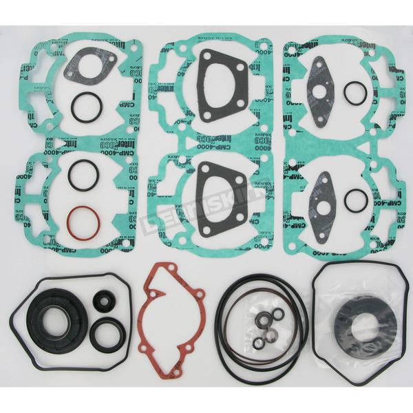 Winderosa 2 Cylinder Complete Engine Gasket Set - 711259