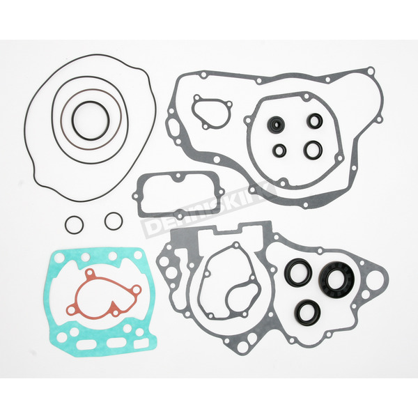 Moose Complete Gasket Set with Oil Seals - 0934-0284