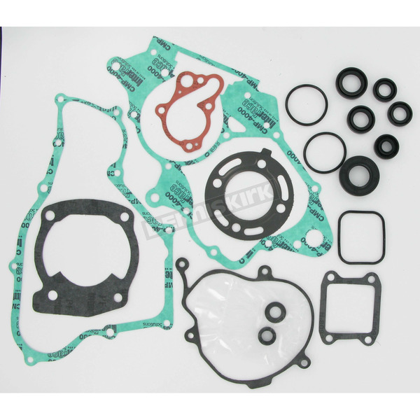 Moose Complete Gasket Set With Oil Seals - 0934-0447