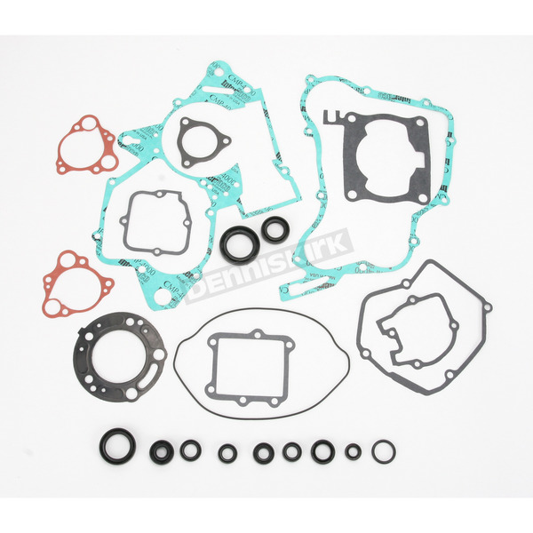 Moose Complete Gasket Set with Oil Seals - 0934-0453
