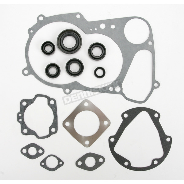 Moose Complete Gasket Set With Oil Seals - 0934-0485