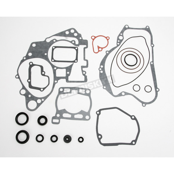 Moose Complete Gasket Set with Oil Seals - 0934-0488