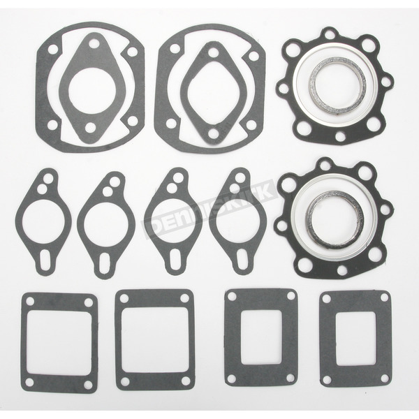 Winderosa 2 Cylinder Full Top Engine Gasket Set - 710146